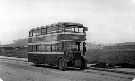 Nottingham City Transport - Daimler CWA6 - DKY 496 - 47
