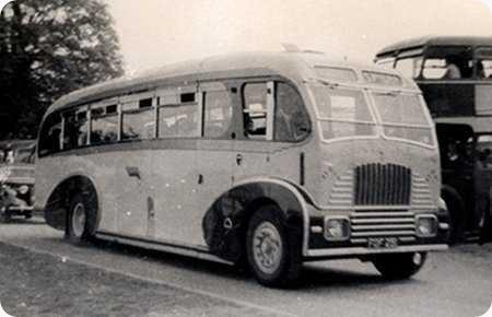 Spiers Tours Birmingham - Daimler COG5 - FOF 251