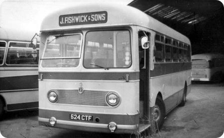 J Fishwick & Sons – Leyland Olympian – 524 CTF – 28