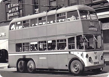 Huddersfield Corporation - Karrier E6 - AVH 497 - 497