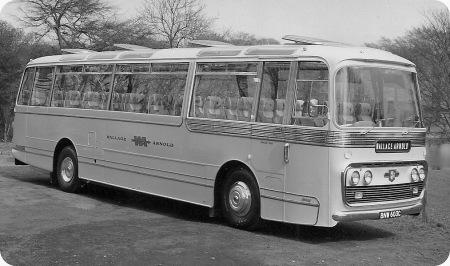 Wallace Arnold - Leyland Leopard - Plaxton - BNW 603C