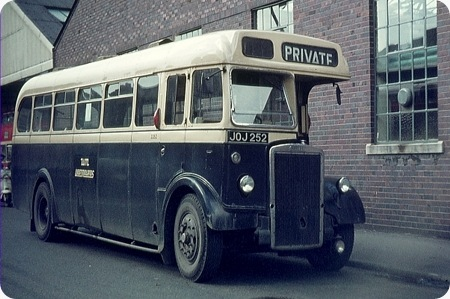 West Midlands PTE - Leyland Tiger - JOJ 252 - 2252