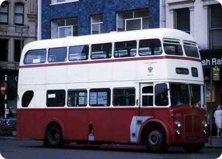 Oldham Corporation - Leyland Titan - NBU 500 - 400