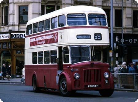 Oldham Corporation - Leyland Titan - PBU 947 - 447