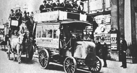 1899 German Daimler in 1900