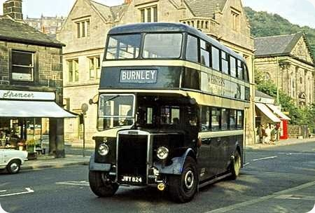 Todmorden Corporation - Leyland Titan PD2 - JWY 824 - 5