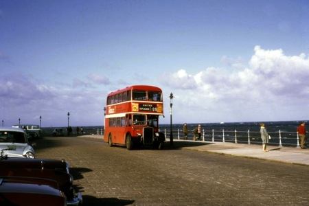 Old Bus Photos » United Automobile – Bristol KSW6B – PHN 809 – BH27