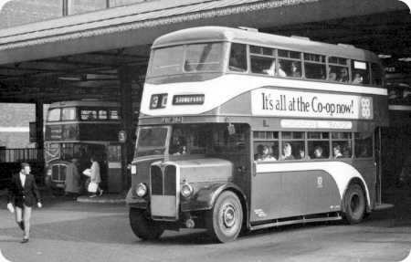 Hull Corporation - AEC Regent III - FBC 284 - 103