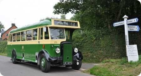 Exeter City Transport - Daimler CVD6 - JFJ 873 - 173
