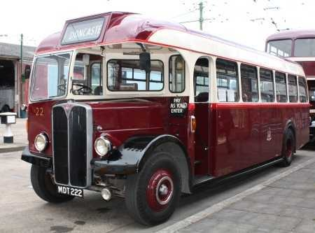 Doncaster Corporation - AEC Regal III - MDT 222 -22