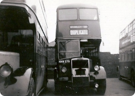 Leeds City Transport – Leyland Titan PD2/1 – NNW 379 – 379