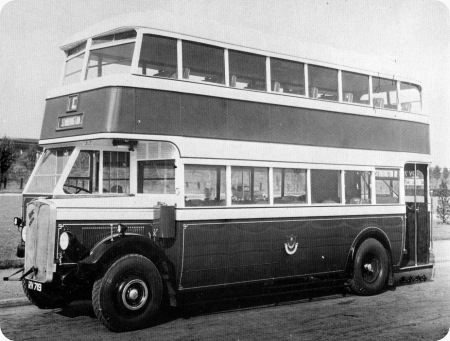 Portsmouth Corporation - AEC Regent I - RV 719 - 35