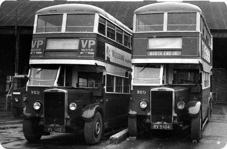 Portsmouth Corporation - Leyland TD4 - RV 9404 - 150