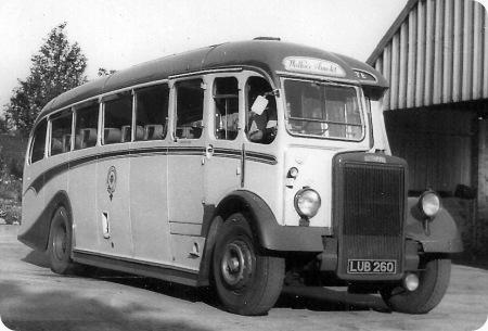 Wallace Arnold Tours - Leyland Tiger - LUB 260