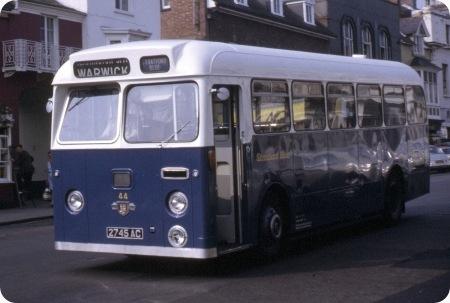 Stratford Blue - Leyland Tiger Cub -2745 AC - 44