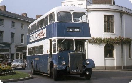 Stratford Blue - Leyland Titan - 537 EUE - 25