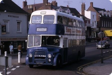 Stratford Blue - Leyland Titan - 669 HNX - 2