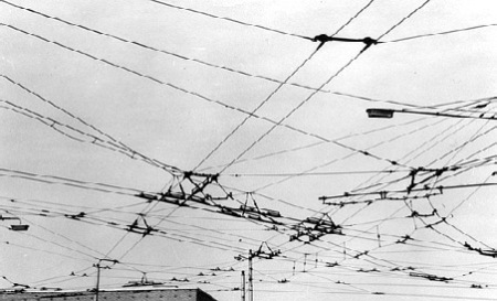 BUS - Fratton Bridge Trolley Wires
