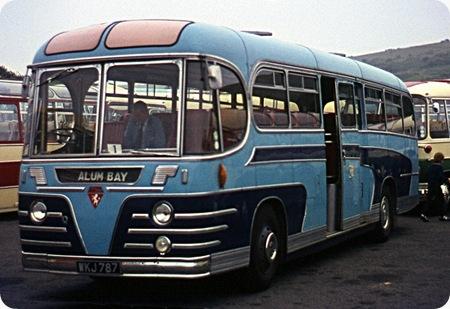 Moss Tours - Beadle Rochester - WKJ 787