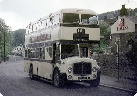 Sheffield Corporation - AEC Regent V - 365 EWE - 1365