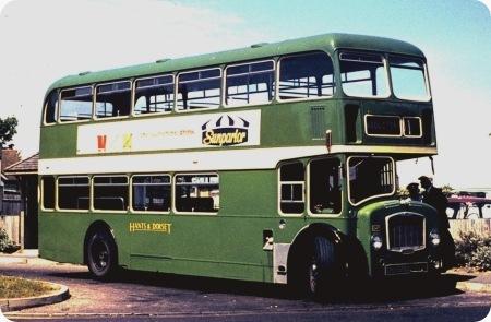 Hants & Dorset - Bristol Lodekka - GRU 978D - 1547