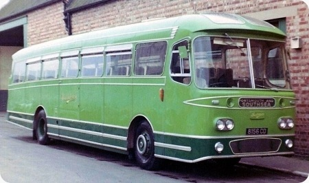 Southdown - Leyland Leopard - 8156 CD - 1156