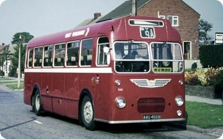 West Yorkshire - Bristol MW6G - AWU 466B - 1146