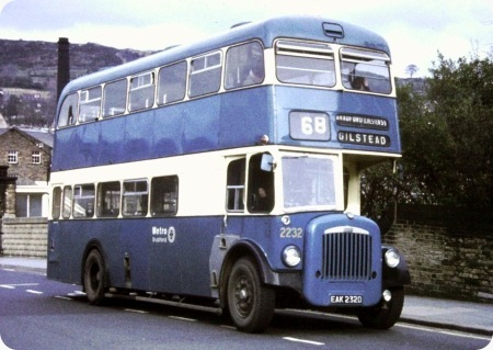 Bradford Corporation - Daimler CVG6 - EAK 232D - 232