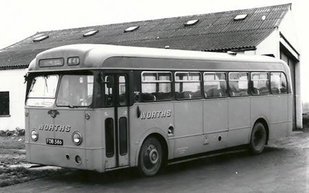Worths - Leyland Tiger Cub - FDB 586 - 586A