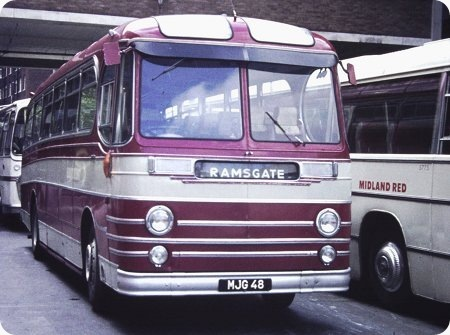 East Kent - AEC Reliance - MJG 48