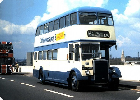 Preston Corporation - Leyland Titan PD - BCK 367C - 61