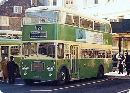 Southdown - Leyland Titan PD3 - HCD 369E - 369