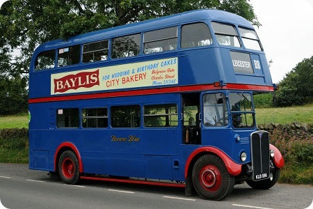 Brown's Blue Bus - AEC Regent RT - KLB 596