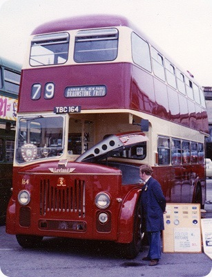 Leicester Corporation - Leyland Titan PD3 - TBC 164 - 164