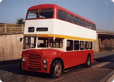 Leicester City Transport - Leyland Titan - CRY 50D - 50