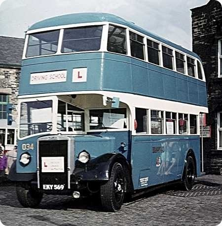 Bradford Corporation - Leyland Titan PD2 - EKY 569 - 34
