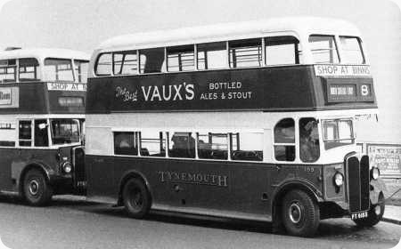Tynemouth and District – AEC Regent – FT 6153 – 153