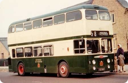 Nottingham City Transport - Daimler Fleetline - 62 NAU - 62