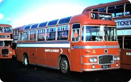 Hants & Dorset - Bristol MW6G - 7123 LJ - 1833