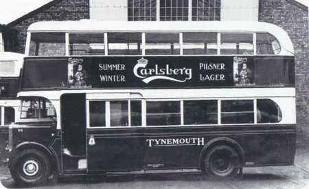 Tynemouth and District – Leyland Titan TD5 – FT 4498 – 98