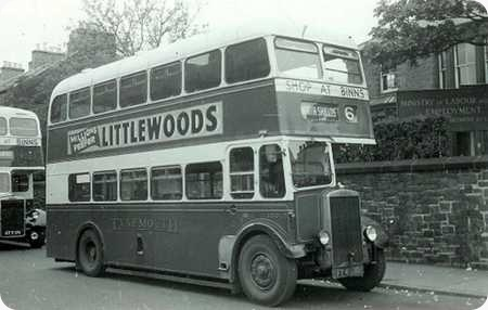 Tynemouth and District – Leyland Titan TD5 – FT 4500