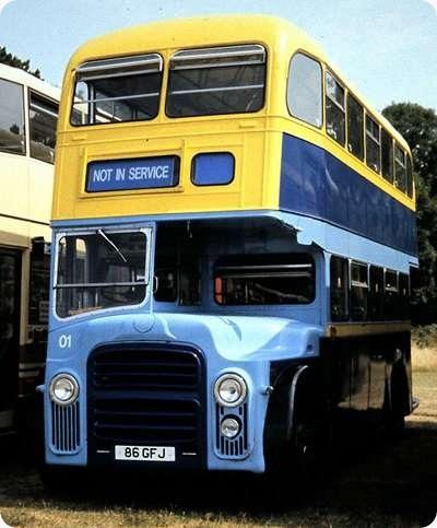 Solent Blue Line - Leyland Titan PD2 - 86 GFJ - 01