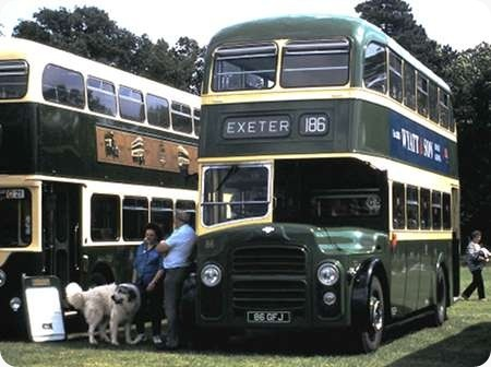 City of Exeter- Leyland Titan PD2 - 86 GFJ - 86