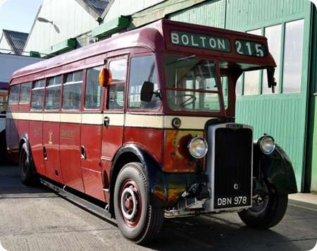 Bolton Corporation - Crossley SD 42/7 - DBN 978 - 8