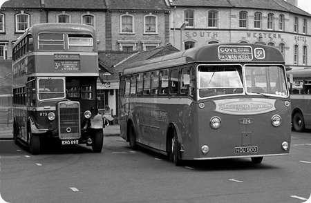 Aldershot & District - Dennis Dominant - HOU 900 - 174