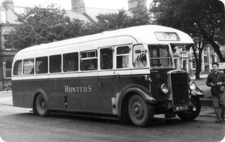 Hunter's - Leyland Tiger TS7 - JR 6600