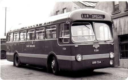 East Midland - Leyland Tiger Cub - R 324 - ORR 324