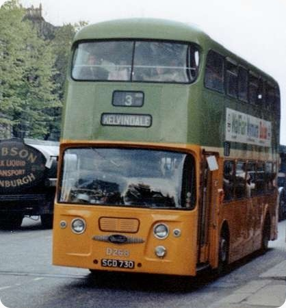 Glasgow Corporation - Daimler Fleetline - SGD 730 - D 268