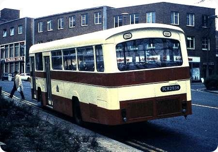 Southampton Corporation - AEC Swift - TCR 293H - 7