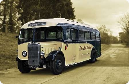 Blue Bus Services – Daimler COG5-40 – GNU 750